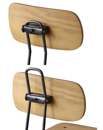 az iron wood chair high