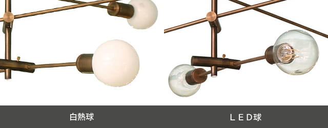 カーディナルペンダントライト 電球