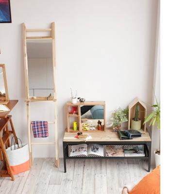 citta ladder rack&mirror