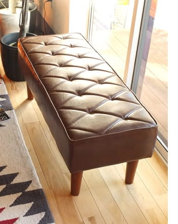 diamand bench sofa