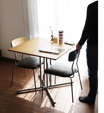 drip cafe table