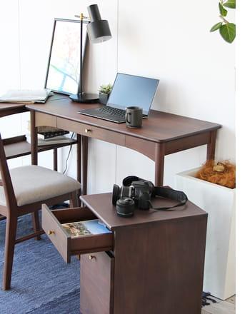 emo desk chest