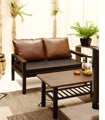evans 2P sofa