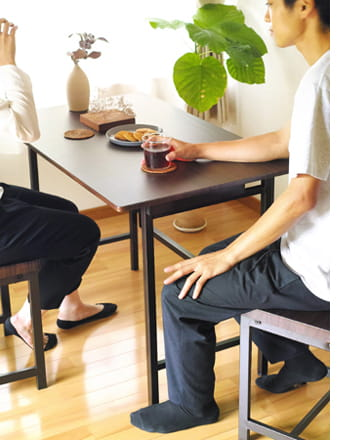 flap iron folding desk