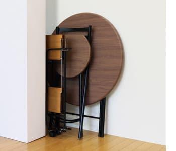 folding circle chair&table