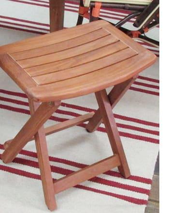folding compact stool