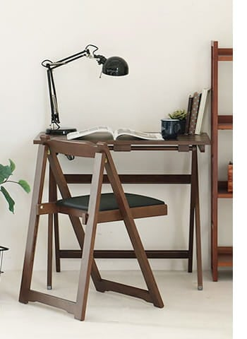 TS folding desk chair set