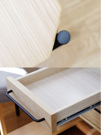 glam desk 120 drawer
