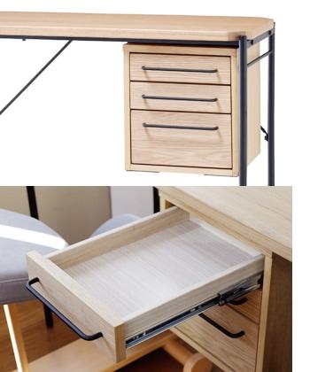 glam desk 90 drawer