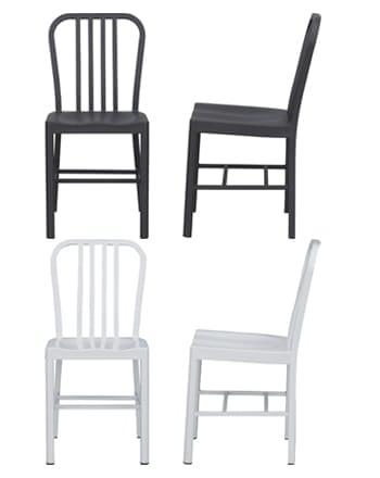 graphite chair