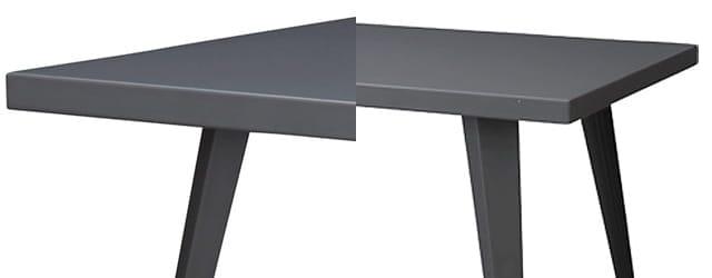 グラファイトダイニングテーブル