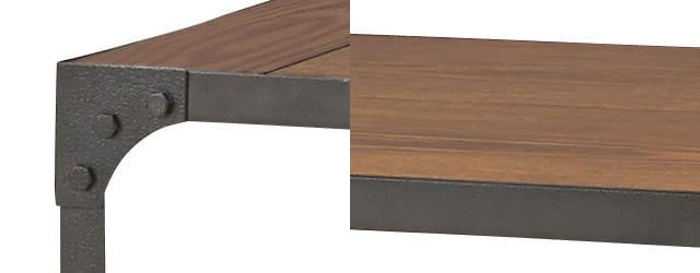industrial low table BK