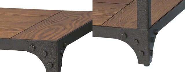 インダストリアルローテーブル ブラック