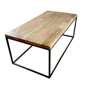 アイアンコーヒーテーブル