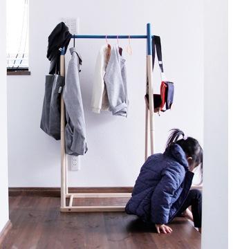 letty kids hanger rack