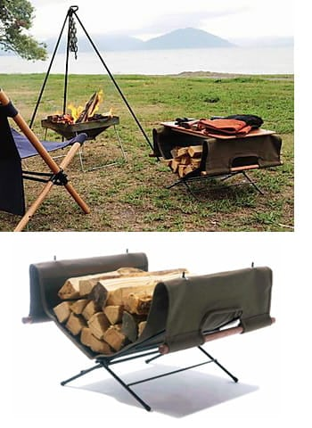log carry stand