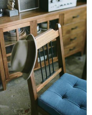 lumber dining chair