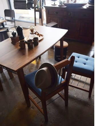 lumber dining table