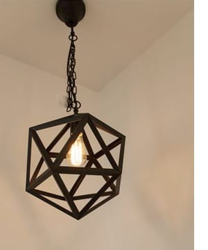metal rod pendantlight