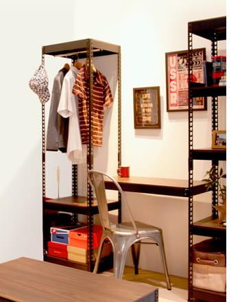 metal&wood rack hanger rack 3s