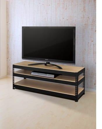 metal&wood rack TV board