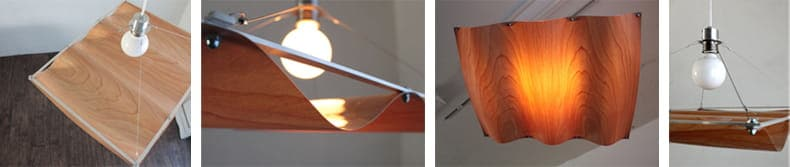 onda wood pendantlight