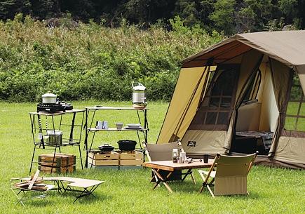 キャンプなどの本格アウトドアにおすすめのアイテム