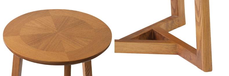 ラディアルサイドテーブル