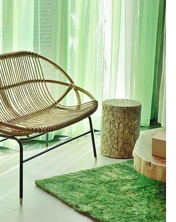 rattan love chair