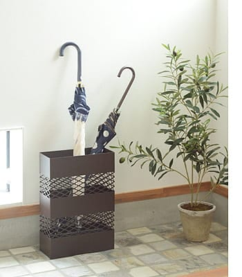 rectangle umbrella stand