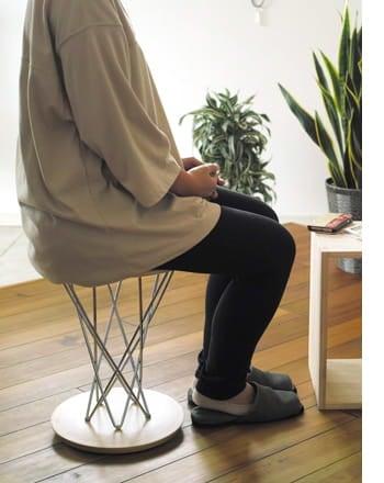 rocking stool high type