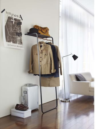 shelf coat hanger