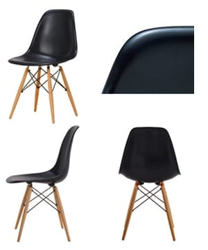 side shell chair