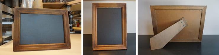 stand black board