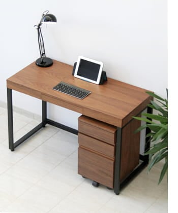 walnut desk 1100