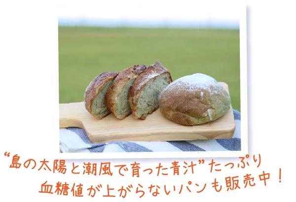 血糖値が上がらないパンも販売中!