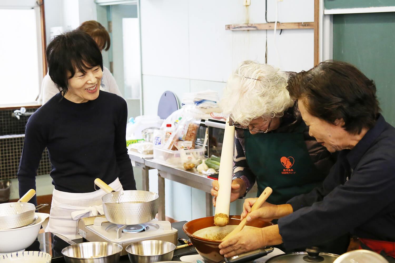 喜界島の料理教室