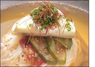 まだんの韓国冷麺調理例