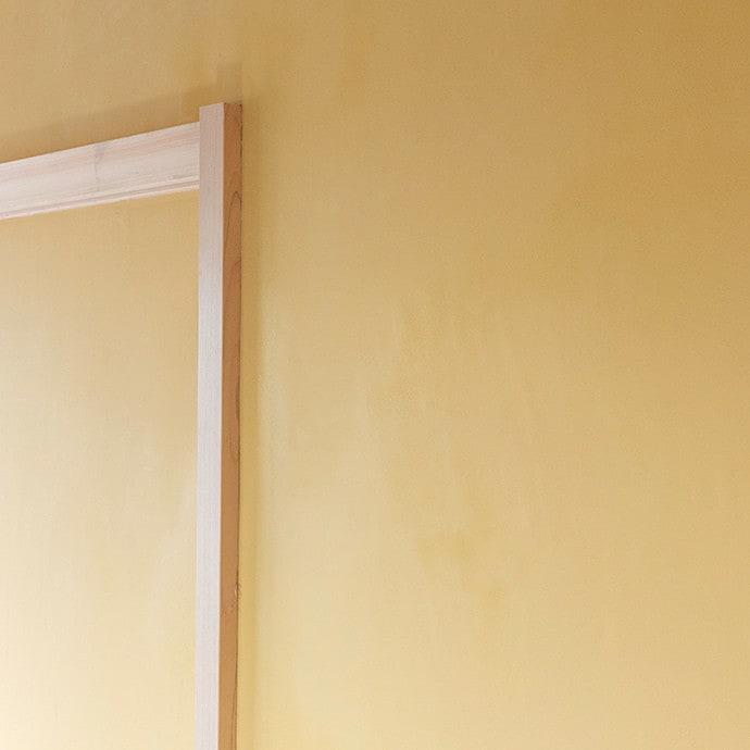 漆喰の特長フラットな仕上げが可能