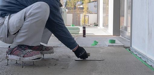 床(土間)を塗りたい