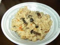 畑しめじ(ハタケシメジ)の炊き込みご飯