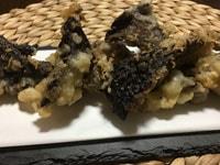香茸の天ぷら