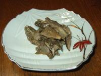 クロカワ(老茸、ろうじ)の味噌和え