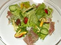 たまご茸(タマゴタケ、オロンジュ、オーボリ)のサラダ