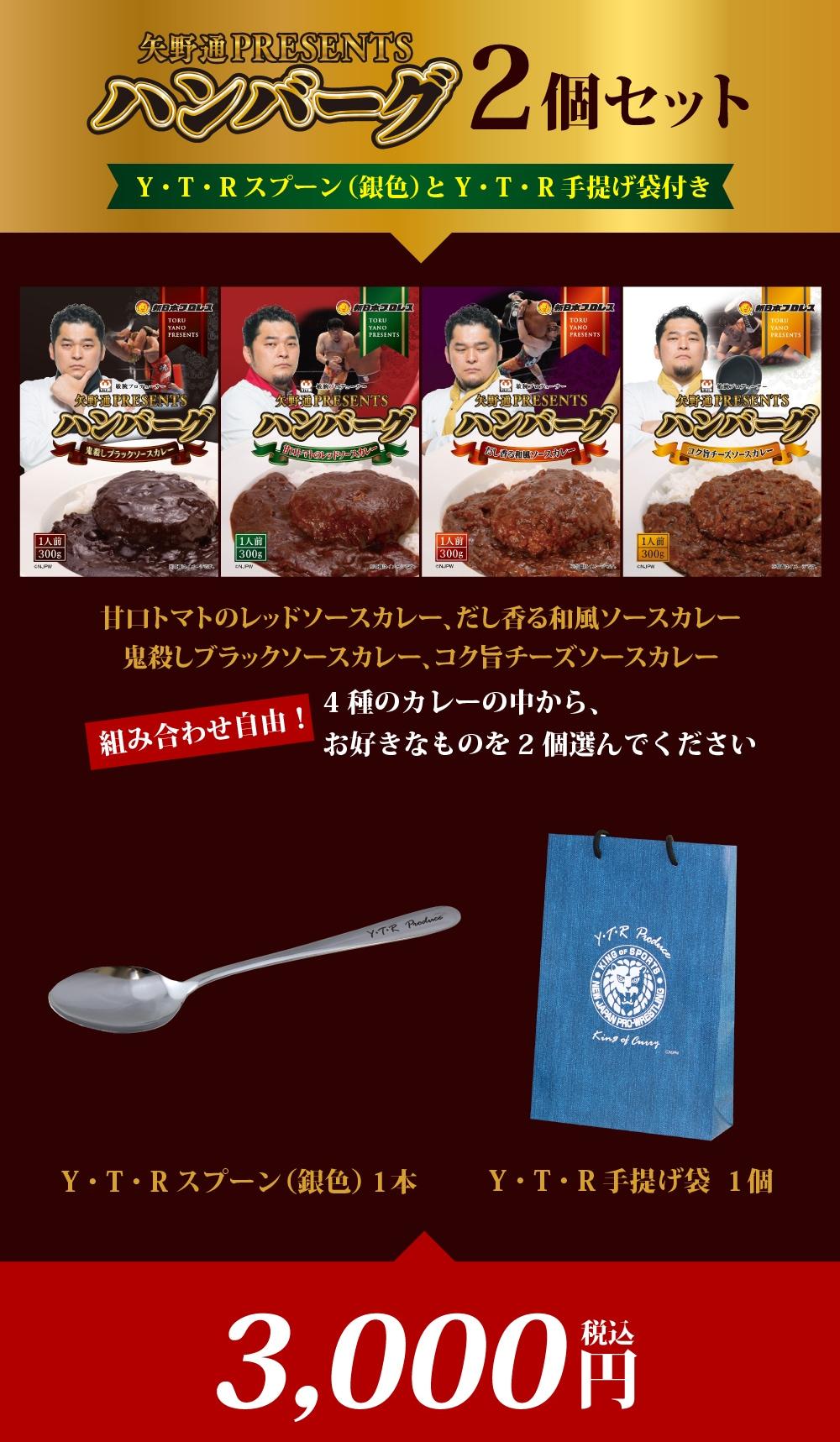 矢野通PresentsハンバーグカレーWeb限定先行販売開始