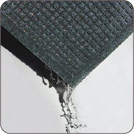 特殊な形状が水気を逃さない吸水・速乾仕様