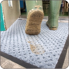 タワシ状のブラッシング繊維を配合したシリーズ