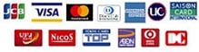 visa mastercard jcb amex diners uc saisoncard ufj nicos top aeon DC