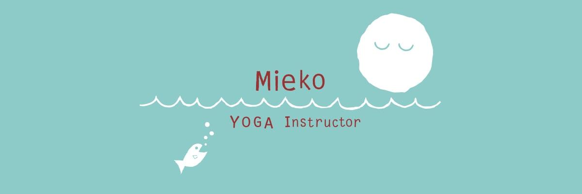 Mieko YOGA Instructor