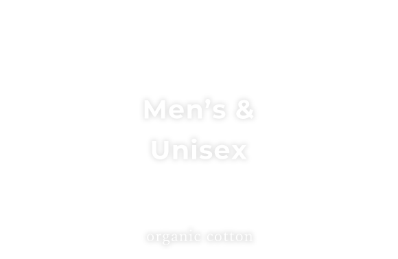 3つアーチ機能 Mens organic cotton